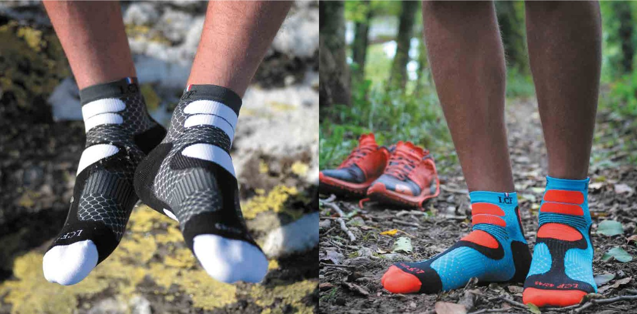chaussettes running trail - KM 42 Podcast running par Bertrand Soulier