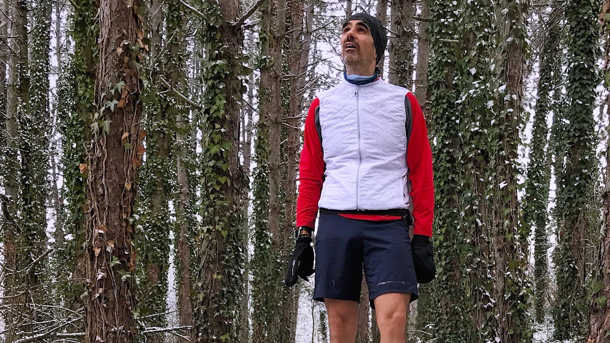 bertrand soulier neige - KM 42 Podcast running par Bertrand Soulier