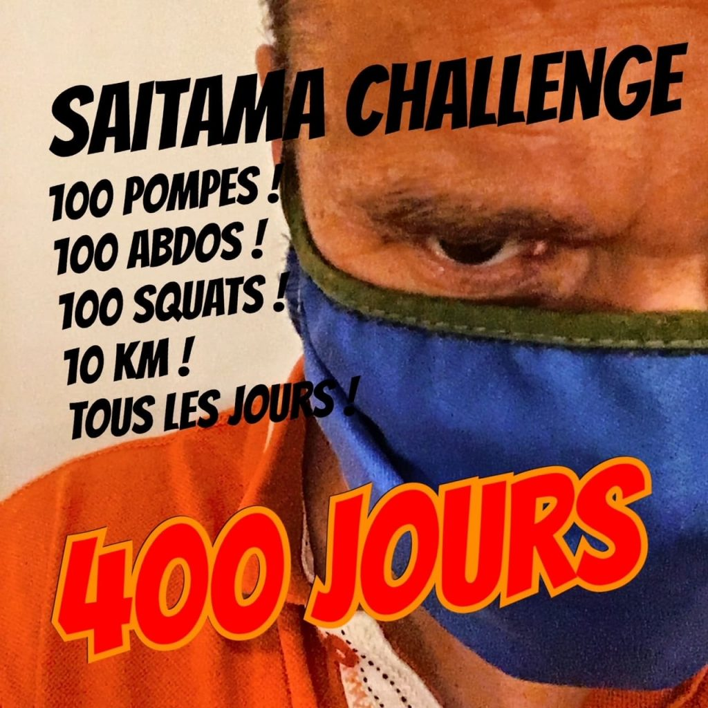 phil ufo saitama challenge - KM 42 Podcast running par Bertrand Soulier